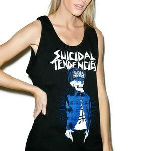 Dolls Kill SUICIDAL TENDENCIES Muscle Tee Tank Top